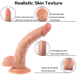 skin texture dildo